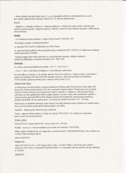 TECHNICKÉ INFORMACE K ČZ 250 978/1983